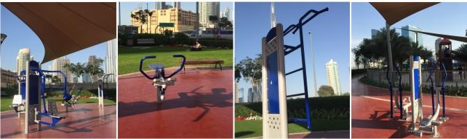 Fitnessgeräte  im  Freien