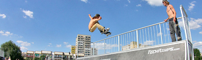 Skate-Rampen
