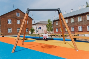 Valga City Center Public Playground, Estland